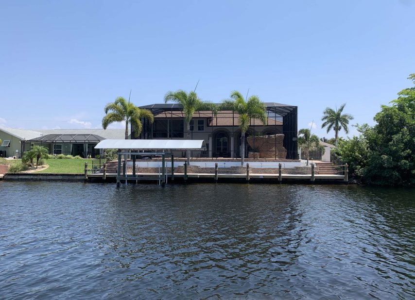 Cape Coral Home Away Back Exterior
