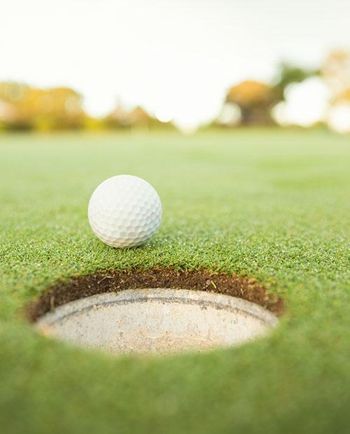 golf ball edge